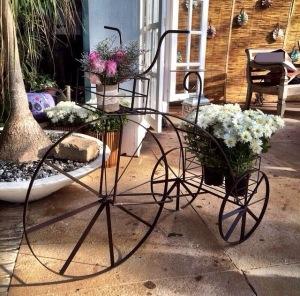 Bicicleta de ferro - Casamento em Búzios